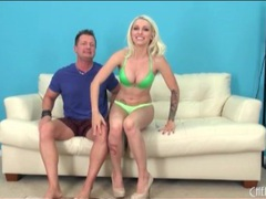 Stevie shae unbuttons her bra to show her tits movies at find-best-videos.com