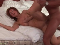 Stunning body on hot mature having hardcore sex clip