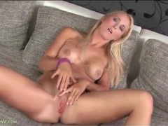 Cute blonde strips from jeans and fingers cunt movies at kilopics.net
