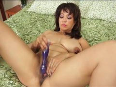 Shaved milf pussy masturbated by a toy movies at sgirls.net