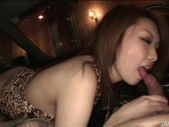 Rinka kanzaki sucks dick in the car videos