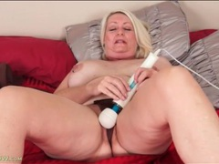 Mature with nipple rings strips and masturbates videos