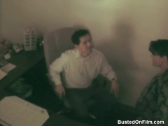 Secretary blows her boss on hidden cam movies at freekiloclips.com