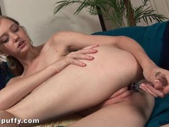 Leggy dasha puff dildo fucks her wet cunt movies at kilotop.com
