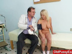 Blondie granny dorota geriatric gyno checkup movies at sgirls.net