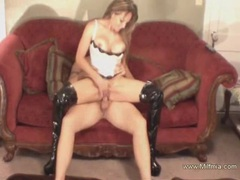Reverse cowgirl from amateur milf videos