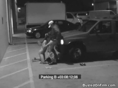 Slut sucks security guard cock in parking lot movies at freekiloporn.com