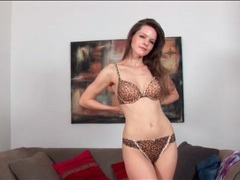 Lilian white is a true beauty in striptease video movies at find-best-lingerie.com