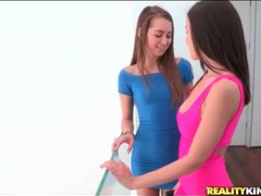 Dillion harper kisses sexy riley reid movies at lingerie-mania.com