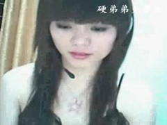 Adorable asian teases her tits on webcam tubes at chinese.sgirls.net