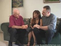 Swinger wife loves strange sex movies at find-best-mature.com