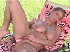 Sexy girl fucks her big pink dildo solo videos
