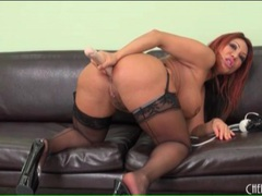 Anal dildo play with pornstar ava devine movies at sgirls.net