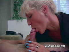Hot horny mama wakes stepson with a blowjob videos