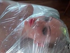 Leigh darby wrapped entirely in plastic movies at freekiloclips.com