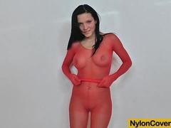 Ema black nylon face distortion movies at find-best-tits.com