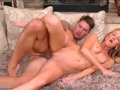 Flawless young blonde banged in bald pussy videos