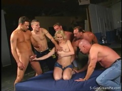 Sharon wild fondled and gangbanged lustily movies at lingerie-mania.com