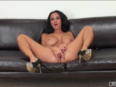 Pornstar ava addams fucks her new dildo videos