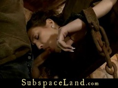 Hardcore slave restrained for a medieval submission movies at find-best-mature.com