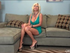 Lingerie and heels look hot on puma swede videos