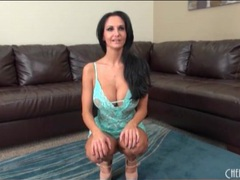 Huge boobs of ava addams in blue lingerie videos