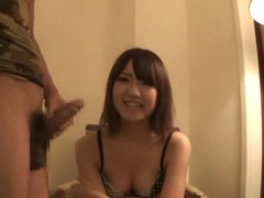 Japanese girl gives blowjob in hotel room videos