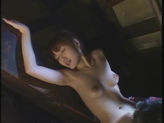 Limber japanese girl bends over for sex movies at sgirls.net
