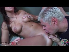 Shaved cunt of whitney westgate eaten out videos