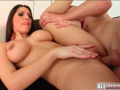 Busty pornstar zafira fuck to creampie movies at freekiloclips.com