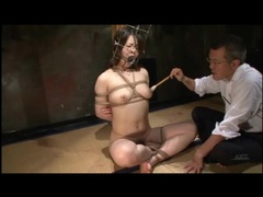 Kinky play with bound japanese girl tubes at japanese.sgirls.net