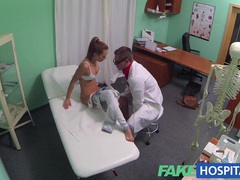 Fakehospital hot brunette patient returns craving the doctors big cock movies at sgirls.net