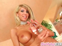Big tits blonde clara g fucks big dildo movies at freekiloporn.com