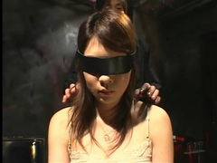 Dungeon babe stripped and bound for audience movies at find-best-babes.com