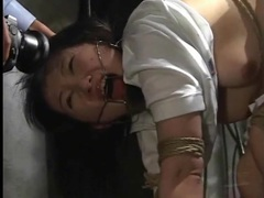 Submission to bondage makes japanese girl suffer tubes at japanese.sgirls.net