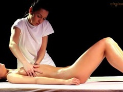 Sexy oil massage for skinny girl movies at kilotop.com
