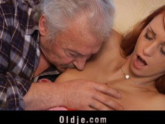 Old guy  casting  with erika fontes's wet pussy movies at sgirls.net