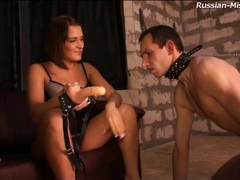 Slave eats out the asshole of mistress movies at very-sexy.com
