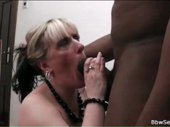 Giant black cock fucks white bbw slut movies at kilosex.com