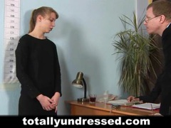 Young secretary's job interview videos