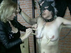 Submissive granny with clothes pins on tits movies at find-best-lesbians.com