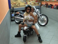 Motorbike teen samantha gets big tits fucked movies at kilosex.com