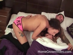 Sexy slut with tattooed back sits on dick movies at find-best-videos.com