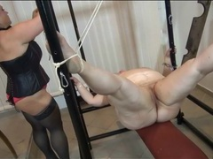 Mistress binds bbw and uses clothes pins movies at adipics.com