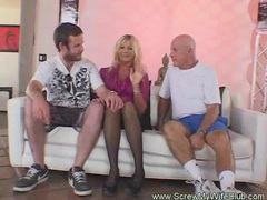Blonde amateur swinger gets screwed videos