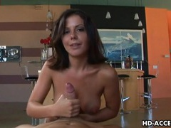 Horny penny flame gives an amzing hand job videos
