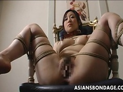 Extreme bondage and dildo fuck for an asian babe tubes at korean.sgirls.net