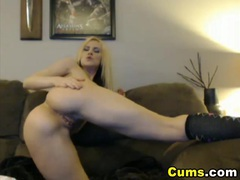 Busty hot blonde babe wet pussy closeup tubes