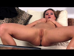 Nessy wild masturbates her tight pussy lips videos