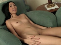 Skinny asian in tight jeans striptease videos
